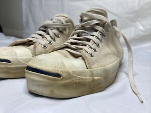 VTG Jack Purcell Converse Made In USA  Canvas Sz 9