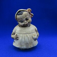 Antique Sewing Tape Measure Celluloid Young Child Figure, NR