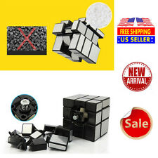 3x3x3 Ultra-Smooth Speed Magic Mirror Cube Puzzle Magnetic Twist Child Toy
