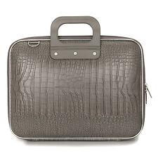 "Bombata - Taupe Medio Cocco 13"" Laptop Case/Bag with Shoulder Strap"