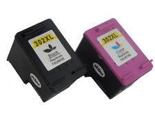 2x Drucker Patronen schwarz color für HP Officejet 5220, 5230, 5232
