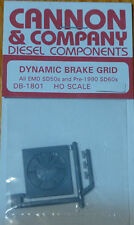 Cannon & Company HO #1801 Dynamic Brake Grid for: All EMD SD50's & 1990 SD60s