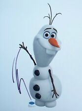 JOSH GAD: Voice of Olaf in 'Frozen'. Genuinely signed photo. AFTAL COA.
