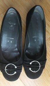 👌👌  ARA RENE GERMANY BLACK SUEDE  SHOES  //  SIZE ARA 5 ,EUR 38    👌👌