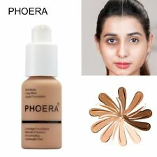 Oil-Controlling PHOERA Liquid Foundation Moisturizing Cosmetic Longlasting