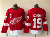 STEVE YZERMAN JERSEY DETROIT RED WINGS 19 MENS PLAYER ICE HOCKEY PLAYER NEW