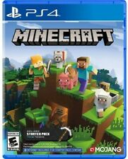 Minecraft Starter Collection for PlayStation 4 [New Video Game] PS 4