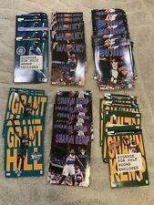 VTG Starline Folders 1997-1998 NBA Grant Hill,Marbury,Patrick Ewing,Shaun Kemp