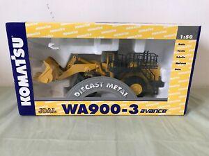 Komatsu WA900-3 Wheel Loader 1:50 Scale Boxed
