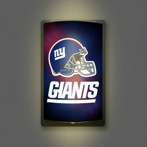 NEW YORK GIANTS MOTIGLOW LIGHT UP SIGN MOTION ACTIVATED PREMIUM NFL LAMP NIGHT