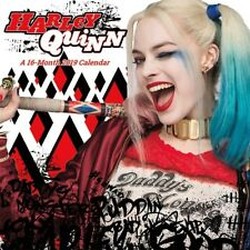HARLEY QUINN - 2019 WALL CALENDAR - BRAND NEW - SUICIDE SQUAD 896047