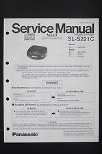 Panasonic sl-s221c Original Discman service-manual/schéma de branchement/Diagram o90