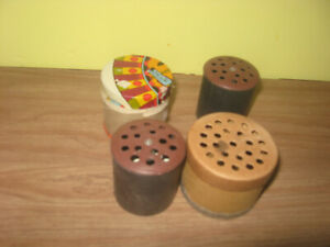 4 Doll Crier Voice Boxes Two Older Grubman Eng. & Mfg Co Patents Pending U.S.A.