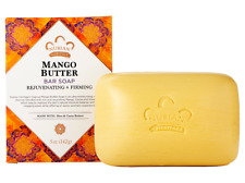 Nubian Heritage Mango Butter, Shea, Cocoa Butter Soap 5 oz - Pack of 6