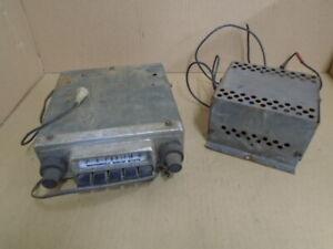 MOTOROLA SOLID STATE Push Button Radio and amplifier Retro radio- SEE PICS