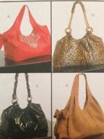 McCalls Sewing Pattern 5719 Hobo Bags Four Styles Handbag Uncut Fashion Craft
