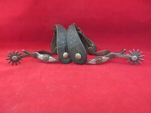 Pair of McChesney #26 spurs from the Roger Wilmont collection
