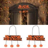 New Halloween Pumpkin Pendant Long Door Decor Hanging Party Decoration Banner