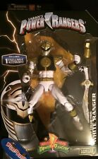 "Mighty Morphin Power Rangers WHITE RANGER Legacy 6"" LIMITED EDITION MEGAZORD"