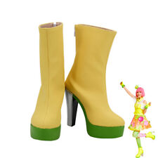 Poppy Pipopapo Shoes Cosplay Asuna Karino Kamen Rider Ex-Aid Women Boots