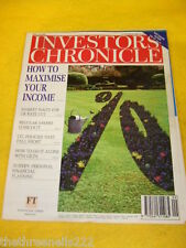 INVESTORS CHRONICLE - REGULAR SAVERS LOSE OUT - MARCH 1 1996