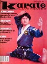 6/82 KARATE ILLUSTRATED MAGAZINE JOHN CHUNG OKINAWA-TE KUNG FU MARTIAL ARTS