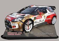Sebastien Loeb, Citroen DS3 WRC Rallye Monte Carlo 2013, en horloge miniature