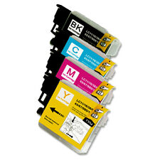 4 PK B C M Y Ink Cartridges fits Brother Series LC61 MFC 290C 295CN J265w 270w