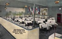 Linen Postcard Main Dining Room at New China Cafe in Denver, Colorado~118217