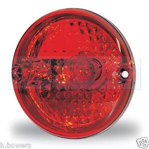 JOKON 710 95mm ROUND REAR STOP / TAIL LIGHT LAMP ELDDIS BAILEY CARAVAN MOTORHOME