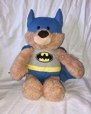 "GUND DC Comics BATMAN 12"" Plush Toy Bear Super Hero"