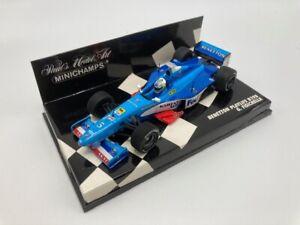 Minichamps 1:43 Benetton Playlife B198, F1 1998, driver Giancarlo Fisichella