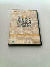 """DVD """"THE KING'S SINGRES FROM BYRD TO THE BEATLES"""" COMO NUEVO"""