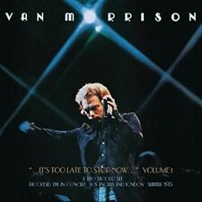 It's Too Late to Stop Now, Vol. 1 [Live] [Slipcase] by Van Morrison (CD, Jun-2016, 2 Discs, Legacy)