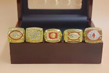 1972 1982 1983 1987 1991 Washington Redskins Championship Ring //--