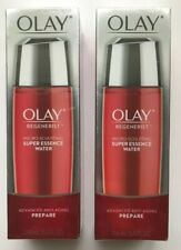 (2) Olay Regenerist Micro Sculpting Super Essence Water Anti-Aging NEW Sealed