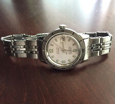 LAST ONES! Steel 18mm vintage watch bracelet riveted spring-loaded links 9 sold