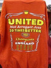 2013 Manchester United T-Shirt - 'Not Arrogant Just 20 Times Better 2013',
