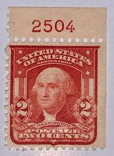 Travelstamps: 1903 US Stamps Scott #319g, 2 Cent Washington, Mint OGD