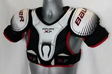 Bauer Vapor X30 Junior Hockey Shoulder Pad Protection    SIZE Small   BLACK A121
