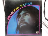"""ROLLIN' MAN""  B. LANCE 1972 ATLANTIC LP SD 7218  VG+ c VG+"