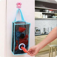 2PC Kitchen Hanging Type Breathable Mesh Grid Garbage Bags Storage Bag New VT