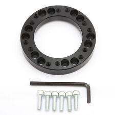 Aluminum Steering Wheel Hub Adapter Spacer Kit for MOMO OMP to NARDI Hub Black