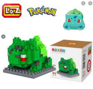 Bulbasaur Pokemon Go Mini Figure Nano block