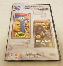 NEW & SEALED WWE Tagged Classics Summerslam 1996 & 1997 (DVD) 96 97 VERY RARE