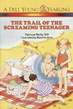 Trail of the Screaming Teenager (Polka Dot Private Eye)-ExLibrary