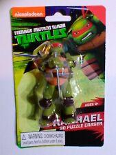 RAPHAEL 3D PUZZLE ERASER Teenage Mutant Ninja Turtles Figure BRAND NEW FIGURINE