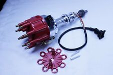 Ford Windsor 351W Ready To Run Ignition Distributor w/ Small Red Cap