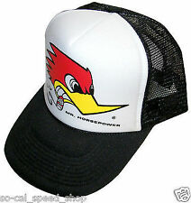 CLAY SMITH CAM TRUCKER HAT MR HORSEPOWER WOODPECKER RAT HOT ROD CUSTOM VTG STYLE