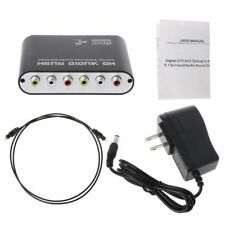 DOITOP 5.1 Audio Gear Digital Sound Decoder SPDIF Optical/Coaxial Dolby to 5.1CH